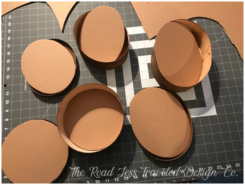 Cut Fabric Inserts for Boxes & Lids