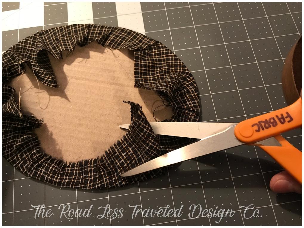 Cutting extra fabric