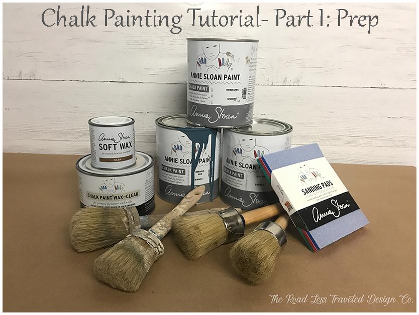 Chalk Paint Tutorial Part 1 Prep (FB Optimized)