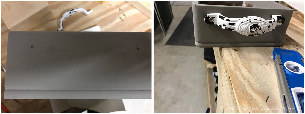 Drill Holes & Install Hardware
