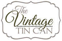The Vintage Tin Can Logo